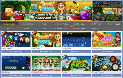 Permainan e-games terlaris di sbobet